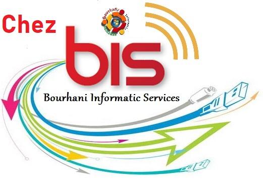 BOURHANI INFORMATIC SERVICES LOGO